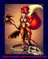 Wicked Sorceress Vixen by scificat