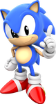 Classic Sonic Model V3 by mateus2014