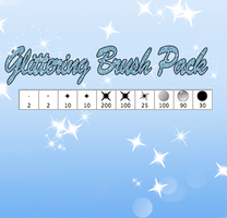 Disney's Glittering brush Pack by KashimusPrime