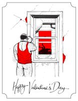 Valentine's Day card 2012 by TomRFoster