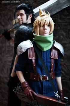 Katsucon 2012: Cloud and Zack by Malindachan