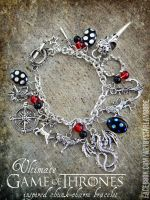 Ultimate Game of Thrones Bracelet- for sale NOW :D by ArtByStarlaMoore