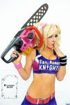 Jessica nigri lollipop chainsaw color by broshojun