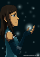 Korra - Freedom of the Spirit by xAmeChanx