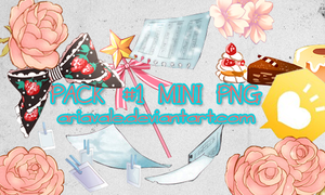 Pack Mini Random Png by AriaVale
