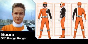 Boom - SPD Orange Ranger by Andr-uril