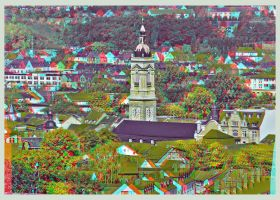 Eisenach in 3D :: HDR ANAGLYPH by zour