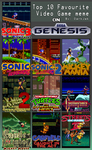 My Top 10 Favorite Sega Genesis Games by soryukey