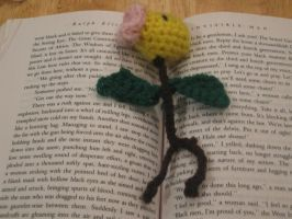 Crochet Bellsprout Bookmark by hulafrog