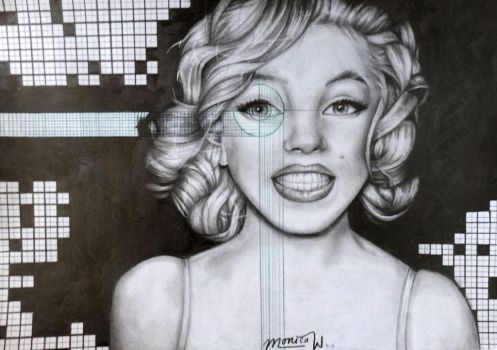 Hey Marilyn by PrehistoricGiraffe