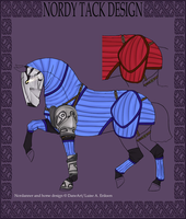 A2393 The Rogue Knight Tack by 11IceDragon11