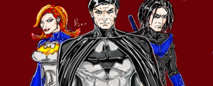 Bruce, Babs, Dick by Archonyto