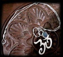 Om necklace by PiratesGlory