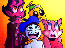 SuperPlanetDolan Draw The Squad 4 Collaboration by LaughterLover