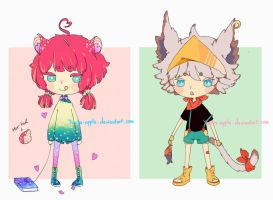 Adoptable Auction [CLOSED] by yuuta-apple