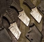 Grim Cleavers by GageCustomKnives