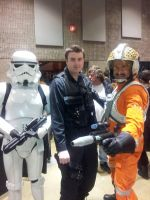 Hamilton Comicon - The Star Wars Boys by TheWarRises