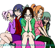 OCs Friends by yuri12inuzuka