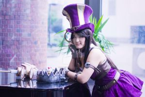 League of Legends Caitlyn by kelvin-oh89