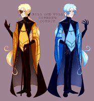 Bill and Will Cipher's Outfit by Nari-Nori