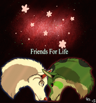 Friends For Life by Blue-eyesWhiteWolf