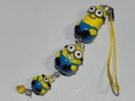 Minion keyring by Pandannabelle