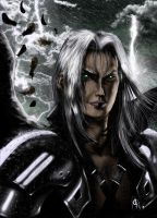 One Winged Angel - Sephiroth by nielisson
