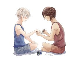 Painting Nails by GydroZMaa