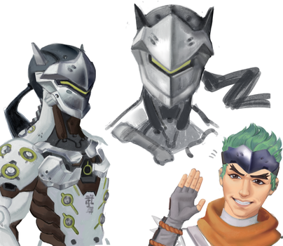 genji sketches by sweettimereplay