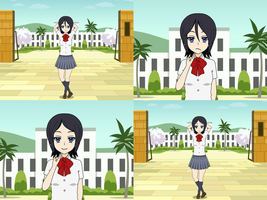 Rukia's Evolution 02 by Firingwall
