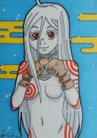 Shiro ACEO card by LadyNin-Chan