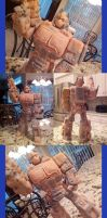 Optimus Prime Sculpture by Quartknee