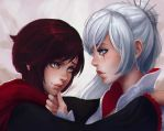 Ruby and Weiss by Koyorin