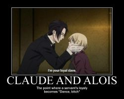 Claude-Alois Motivational by HikazePrincess