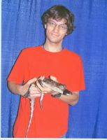 Me with a gator by Ashere
