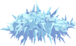 Spikey Ice Death Cloud by SteamRunnerStudios