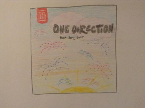 One Direction: Best Song Ever- album cover by balletpink100