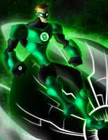 Green Lantern Hal Jordan by MrTobert