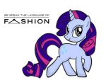 Rarity concept art by AnimeCosplayer4Brs