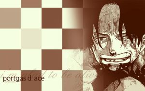 Portgas D. Ace: glad to be by ailend