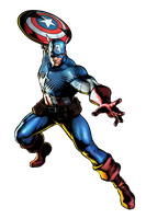 Captain America by geos9104