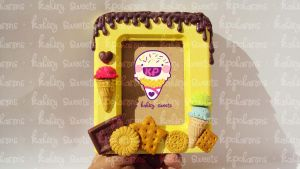 sweet deco frame 2 by KPcharms