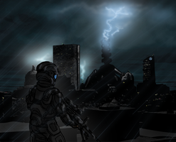 Mombassa Sorrow-ODST Tribute by Izaak94