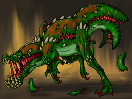 Creepy Monster Hunter - CreepyJho by DarkmaneTheWerewolf