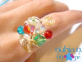 Wired ring by colourful-blossom