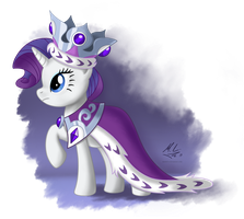 Rarity - Princess Platinum by Maxl654