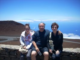 Family At Haleakala Crater by donna-j