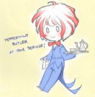 AT: Pepperbutt at your service~ by Cappuchi