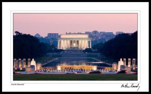Lincoln Memorial by kennedmh