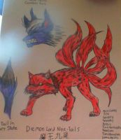 Demon Lord Nine Tails by realmwars